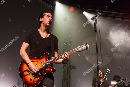 The British bluesrock band The Temperance Movement live at the Blue Balls Festival Lucerne, Switzerland Phil Campbell, vocals Paul Sayer, guitar Nick Fyffe, bass Damon Wilson, drums