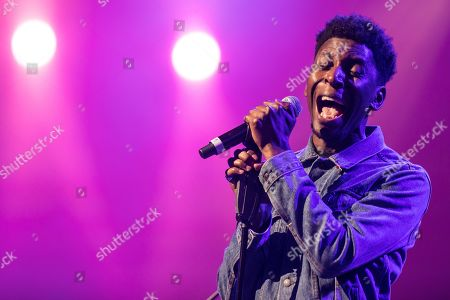 The British singer and songwriter Samm Henshaw live at the 25th Blue Balls Festival in Lucerne, Switzerland