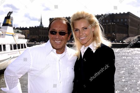 Paul Anka and Anna Anka
