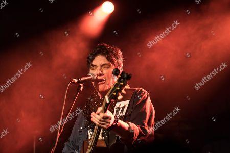The US-American musician and singer Eric Martin, Mr.Big live in the Schueuer Luzern, Switzerland