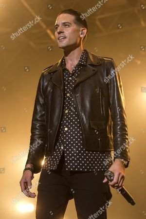 The US-American rapper Gerald Earl Gillum alias G-Eazy live at the 26th Heitere Open Air in Zofingen, Aargau, Switzerland