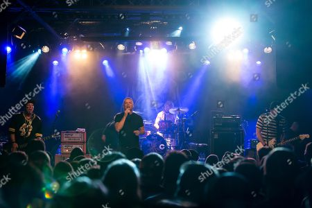 The US-American hard rock band Ugly Kid Joe live in the Schueuer Lucerne, Switzerland vocals, Whitfield Crane guitar, Klaus Eichstadt drumset, Shannon Larkin guitar, Dave Fortman electric bass, Cordell Crockett