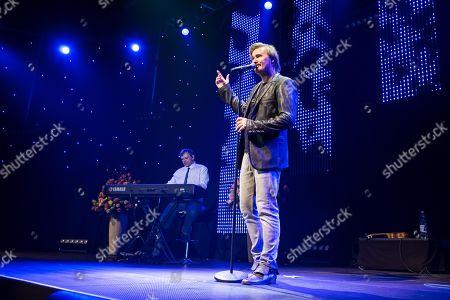 The Austrian pop singer Nik P. live at the 16th Schlager Nacht in Lucerne, Switzerland