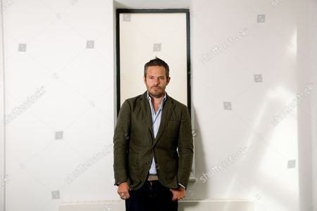Editorial photo of Tyler Brule, Editor in Chief at MONOCLE magazine, London, Britain - 26 Aug 2009