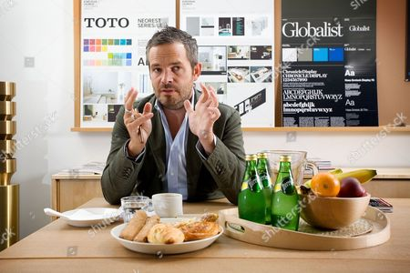 Editorial image of Tyler Brule, Editor in Chief at MONOCLE magazine, London, Britain - 26 Aug 2009