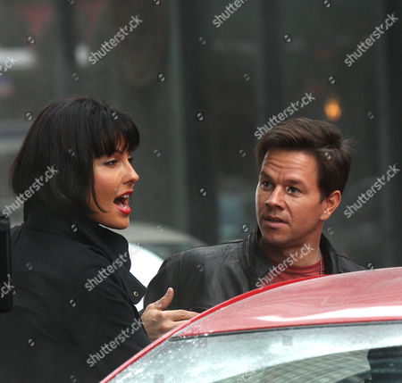 Mark Wahlberg and Tess Kartel