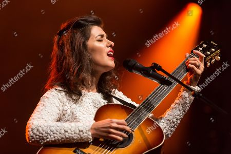 The British singer and songwriter Katie Melua live at the Blue Balls Festival Lucerne, Switzerland