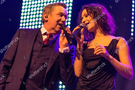 The German pop singer Roland Kaiser live at the 16th Schlager Nacht in Lucerne, Switzerland