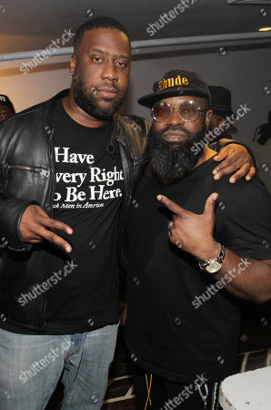 Stock Photo of Robert Glasper and Black Thought