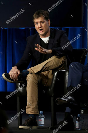 "Stock Picture of Bill Lawrence participates in the ""Whiskey Cavalier"" panel during the ABC presentation at the Television Critics Association Winter Press Tour at The Langham Huntington, in Pasadena, Calif"