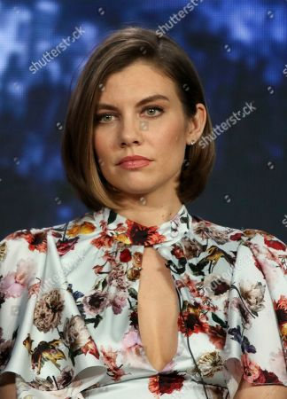 "Lauren Cohan participates in the ""Whiskey Cavalier"" panel during the ABC presentation at the Television Critics Association Winter Press Tour at The Langham Huntington, in Pasadena, Calif"