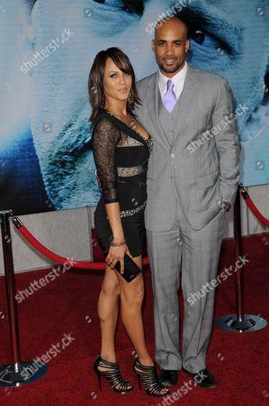 Boris Kodjoe with Wife Nicole Parker