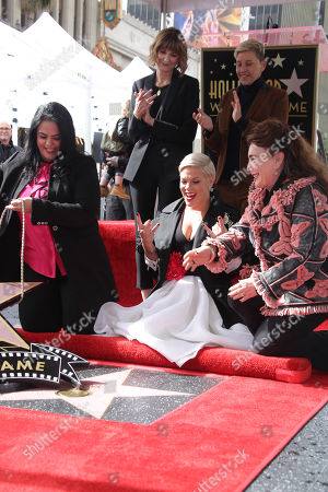 Editorial image of Pink honored with a star on the Hollywood Walk of Fame, Los Angeles, USA - 05 Feb 2019