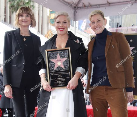 Editorial picture of Pink honored with a star on the Hollywood Walk of Fame, Los Angeles, USA - 05 Feb 2019