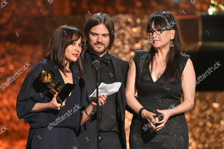 Rashida Jones, Alan Hicks and Paula Dupre Pesmen