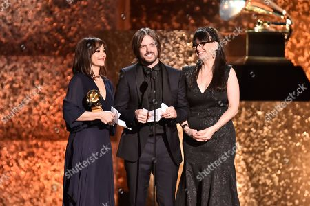 Stock Picture of Rashida Jones, Alan Hicks and Paula Dupre Pesmen