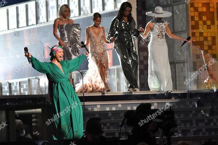 Alicia Keys, Lady Gaga, Jada Pinkett Smith, Michelle Obama and Jennifer Lopez