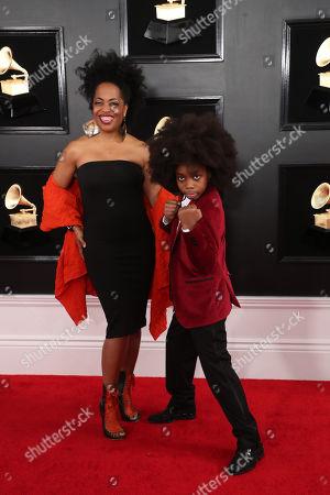 Stock Picture of Rhonda Ross Kendrick and Raif-Henok Emmanuel Kendrick