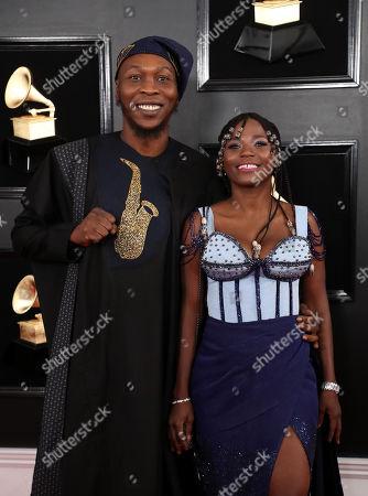 Seun Kuti and Yetunde Ademiluyi
