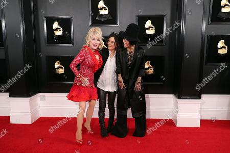 Dolly Parton, Sara Gilbert and Linda Perry
