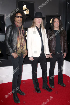 William DuVall, Jerry Cantrell and Mike Inez of Alice In Chains