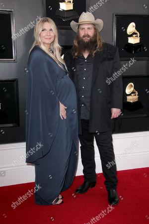 Morgane Stapleton and Chris Stapleton
