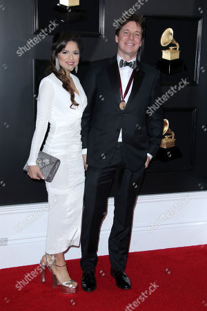 Stock Picture of Lisa Matricardi and Joshua Bell