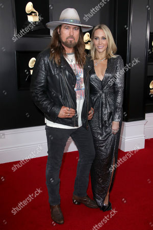 Stock Image of Billy Ray Cyrus and Letitia Cyrus