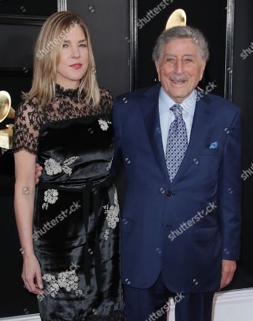 Diana Krall and Tony Bennett