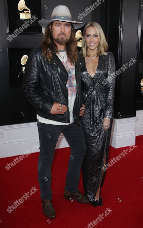 Stock Photo of Billy Ray Cyrus and Letitia Cyrus