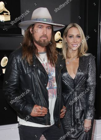 Billy Ray Cyrus and Letitia Cyrus