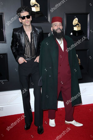 "David "" Dave 1 "" Macklovitch and Patrick "" Patrick Gemayel "" Gemayel of Chromeo"