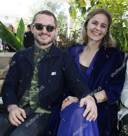 Elijah Wood and Mette-Marie Kongsved in the front row