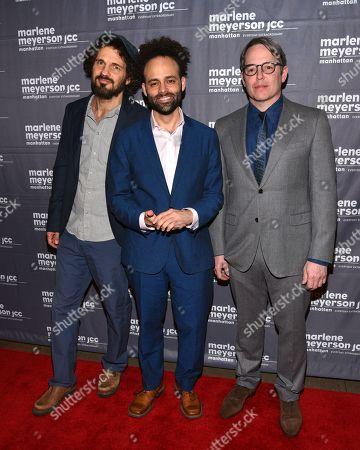 Geza Rohrig, Shawn Snyder, Matthew Broderick