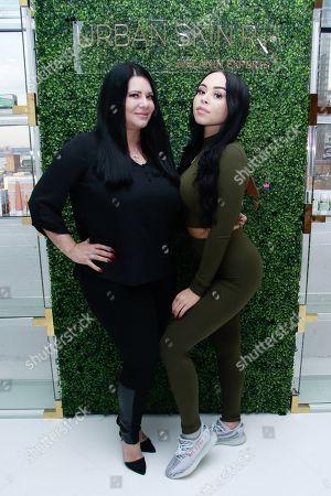 Stock Image of Karen Gravano and Karina Seabrook