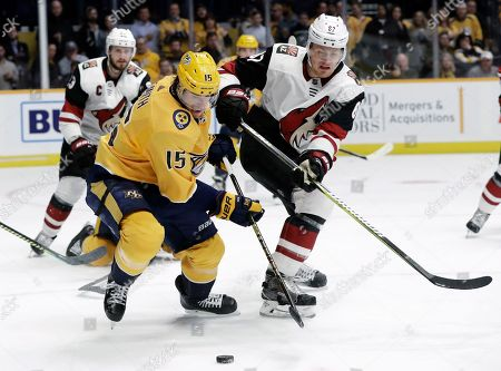 Editorial image of Coyotes Predators Hockey, Nashville, USA - 05 Feb 2019