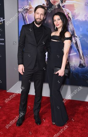 Joel David Moore and girlfriend Katherine
