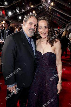 Stock Photo of Jon Landau, Producer, Laeta Kalogridis, Writer,
