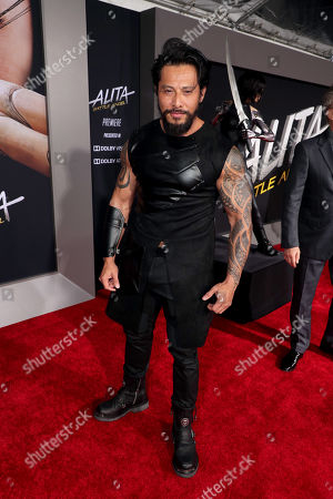 Editorial image of Twentieth Century Fox 'Alita: Battle Angel' film premiere at Regency Village Theatre, Los Angeles, USA - 05 Feb 2019