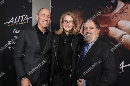 Chris Aronson, Executive Vice President, 20th Century Fox, Emma Watts, Vice Chairman of Twentieth Century Fox Film, Jon Landau, Producer,