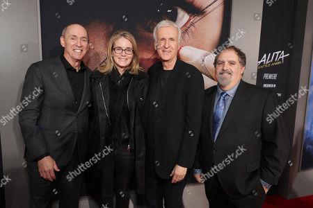 Chris Aronson, Executive Vice President, 20th Century Fox, Emma Watts, Vice Chairman of Twentieth Century Fox Film, James Cameron, Writer/Producer, Jon Landau, Producer,
