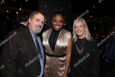 Stock Image of Jon Landau, Producer, Idara Victor, Julie Landau