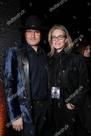 Robert Rodriguez, Writer/Director, Emma Watts, Vice Chairman of Twentieth Century Fox Film,