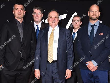 Joe Letteri, Eric Saindon, Mike Cozens and Nick Epstein from Weta Digital