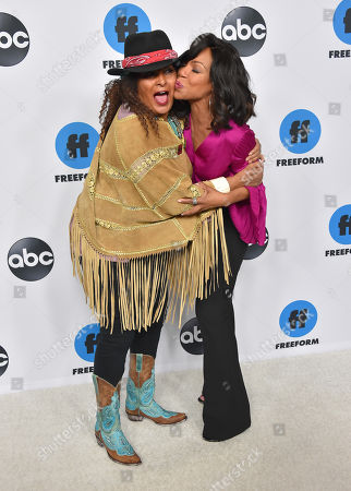 Pam Grier and Wendy Raquel Robinson