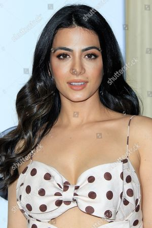 Emeraude Toubia arrives for the Disney and ABC Television 2019 TCA Winter press tour at The Langham Huntington Hotel and Spa in Pasadena, California, USA, 05 February 2019.