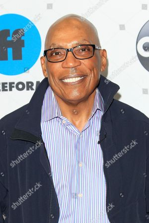 Stock Photo of Paris Barclay arrives for the Disney and ABC Television 2019 TCA Winter press tour at The Langham Huntington Hotel and Spa in Pasadena, California, USA, 05 February 2019.