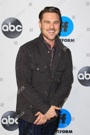 Grey Damon arrives for the Disney and ABC Television 2019 TCA Winter press tour at The Langham Huntington Hotel and Spa in Pasadena, California, USA, 05 February 2019.