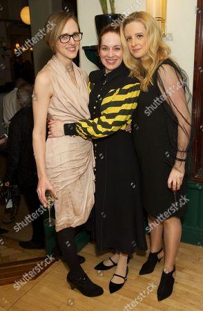 Tamara Harvey (Director), Katherine Parkinson (cast) & Laura Wade (writer)