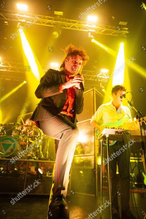 Editorial picture of Enter Shikari in concert at O2 Academy, Newcastle, UK - 04 Feb 2019